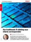 In 5 fases van traditionele IT-afdeling naar interne serviceprovider