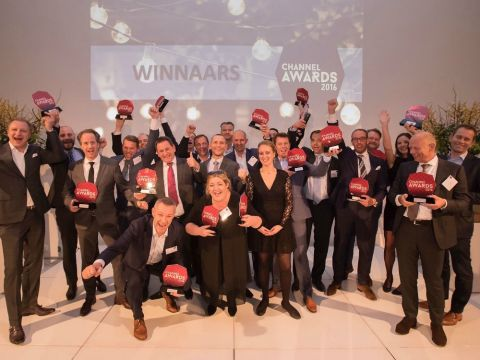 Winnaars Channel Awards 2016
