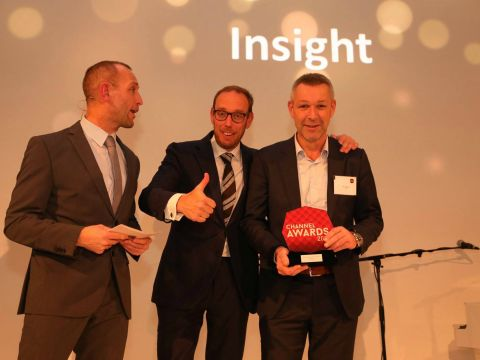 Channel Awards 2016, winnaar software license partner Insight
