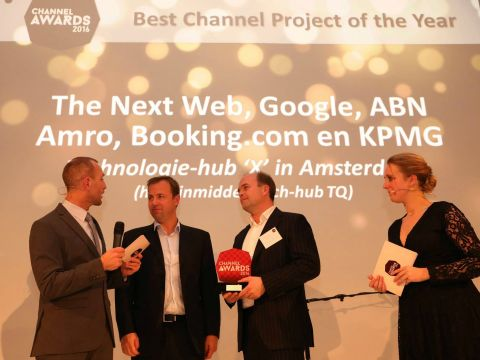Channel Awards 2016, winnaar channelproject Technologie-hub 'X'