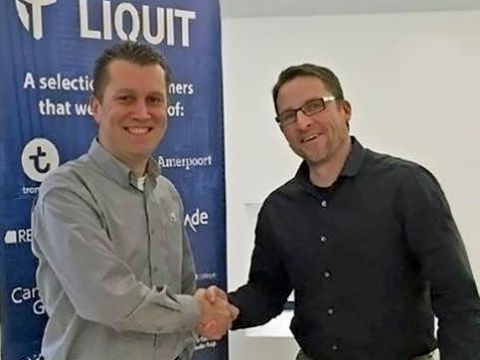 Roel van Bueren, Rovabu Software (links) en Peter Hermeling (Liquit)